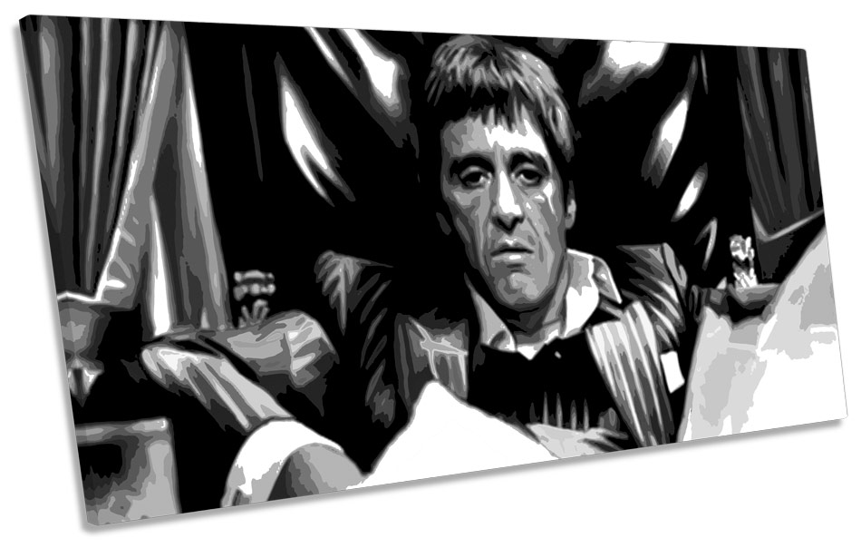 "Al Pacino Scarface Movie Poster Tony Montana Art Print 24/""×36/""//60×90cm Free"