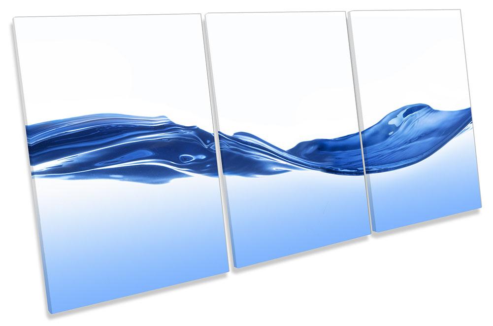 Blue Bathroom Water Wave-TR21