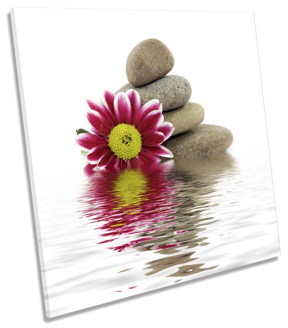 Red Flowers Zen Stones-SG11