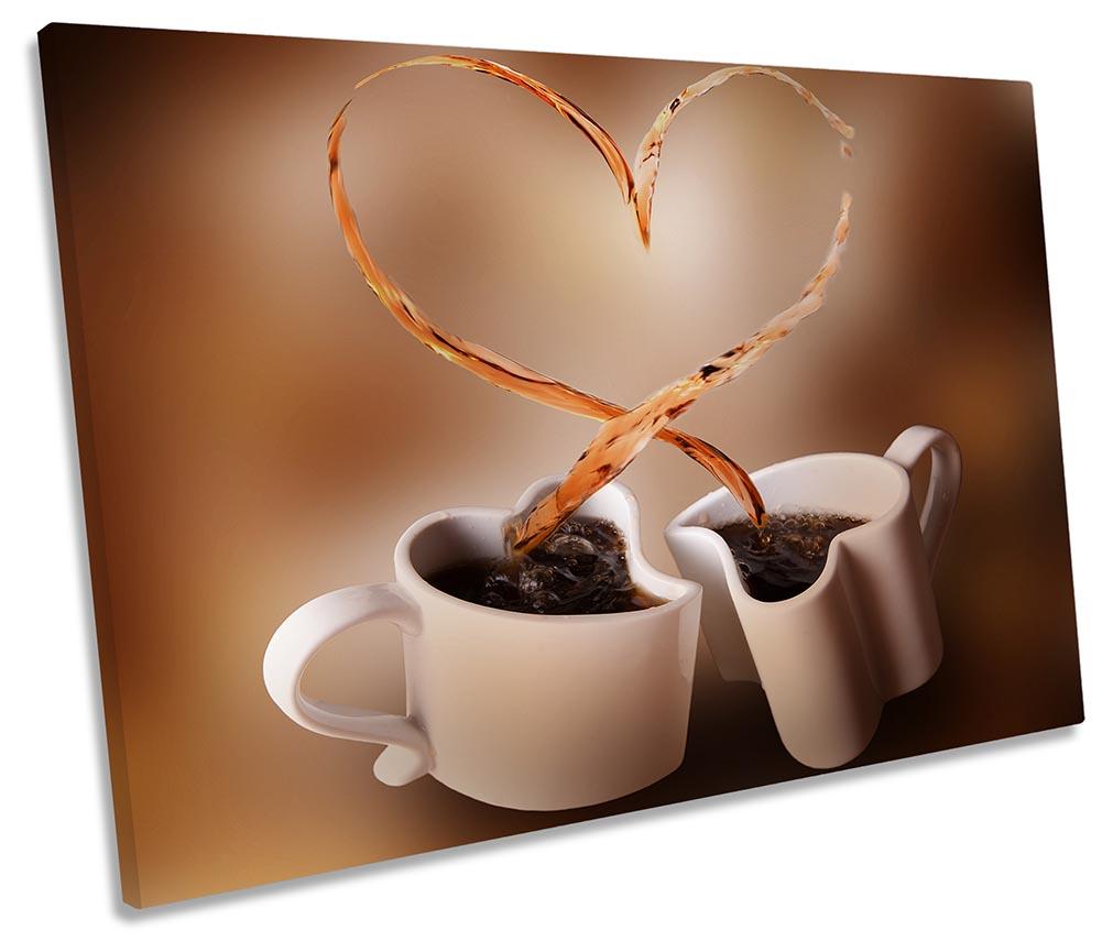 Brown Coffee Cups Heart-SG32