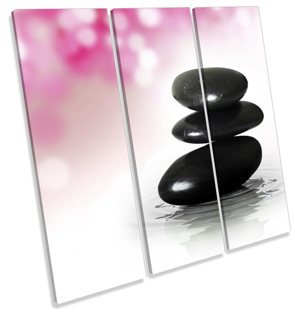 Zen Stones Pink Bathroom-TR11