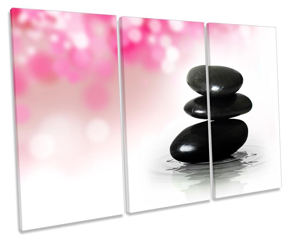Zen Stones Pink Bathroom-TR32