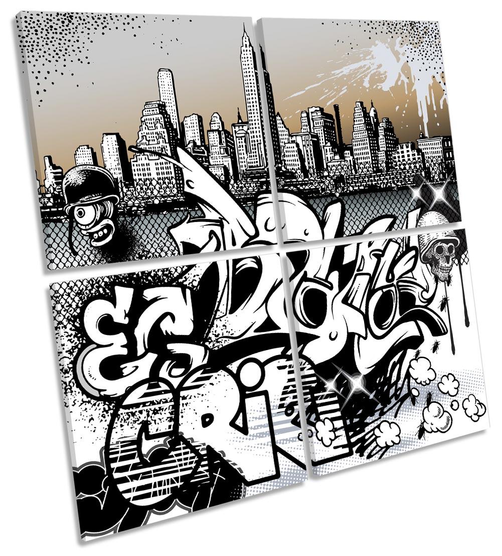 Urban Graffiti Characters City-MP01