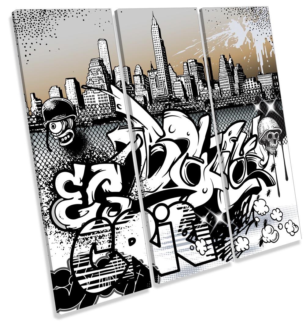 Urban Graffiti Characters City-TR11