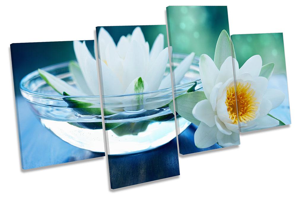 Bathroom Water Lilies Floral-MP04