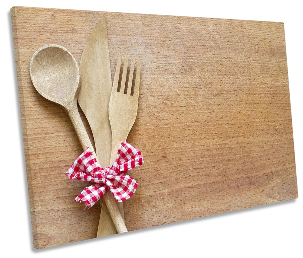 Wooden Knife Fork Kitchen-SG32