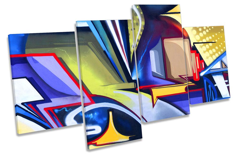 Graffiti Art Abstract Urban-MP04