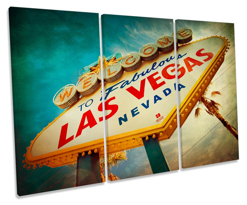 Las Vegas Welcome Sign-TR32