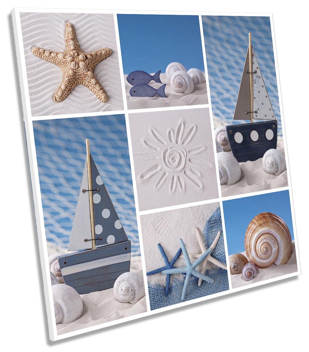 Seaside Beach Shells Bathroom-SG11