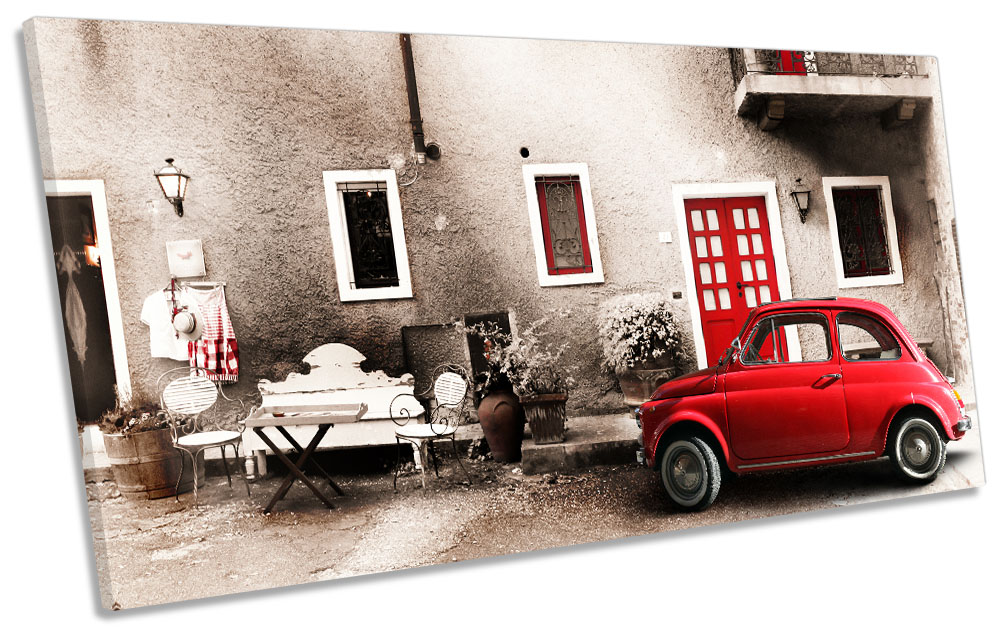 Red Car Italy Vintage-SG21