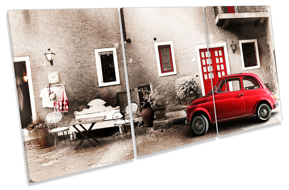Red Car Italy Vintage-TR21