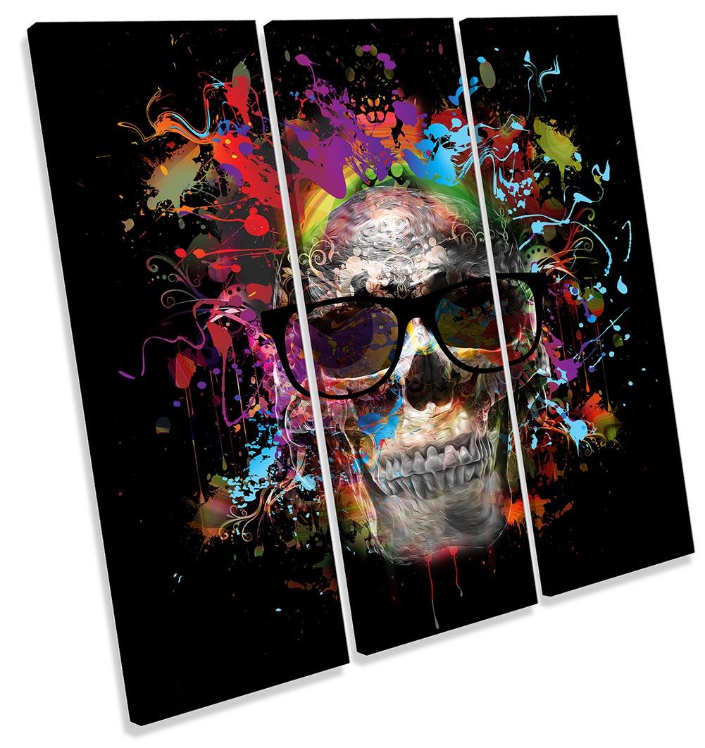 Skull Urban Graffiti-TR11
