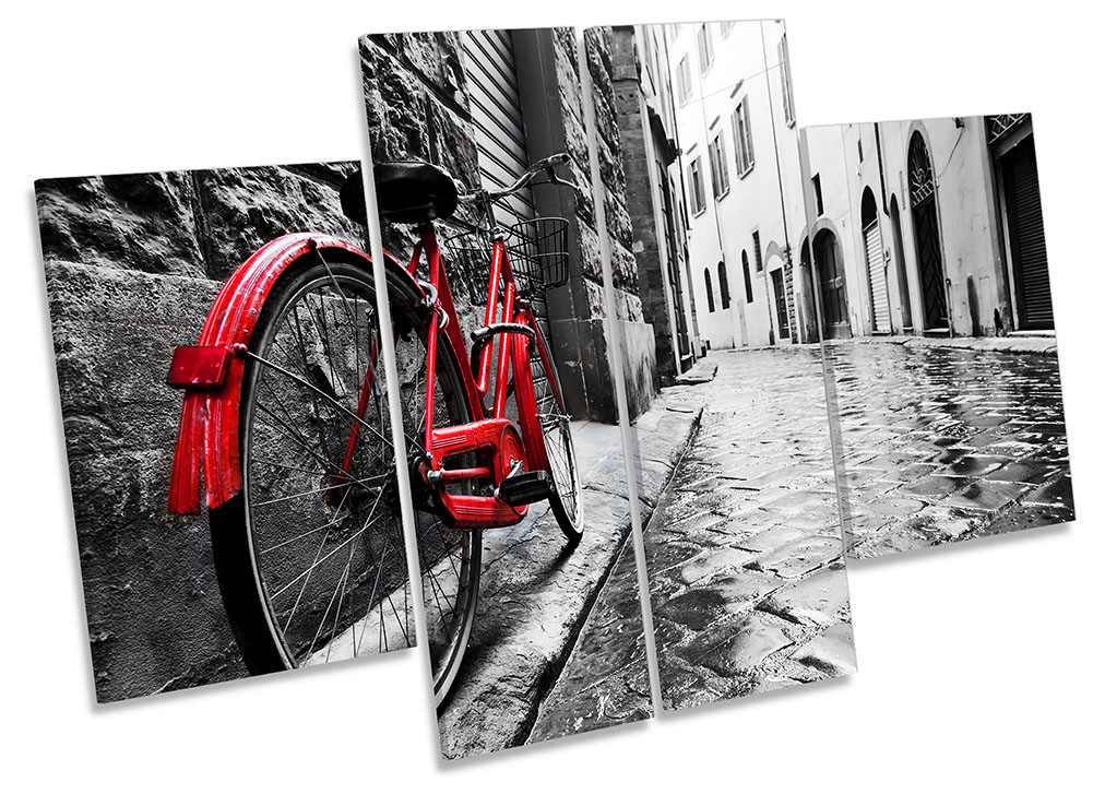 Red Retro Bicycle -MP17