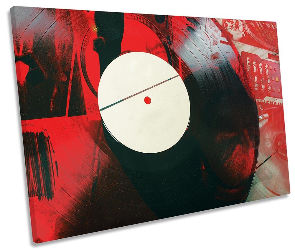 DJ Vinyl Record Grunge-SG32