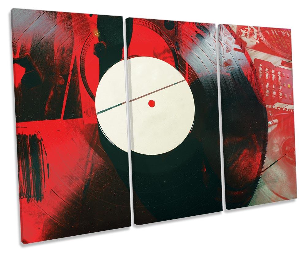 DJ Vinyl Record Grunge-TR32