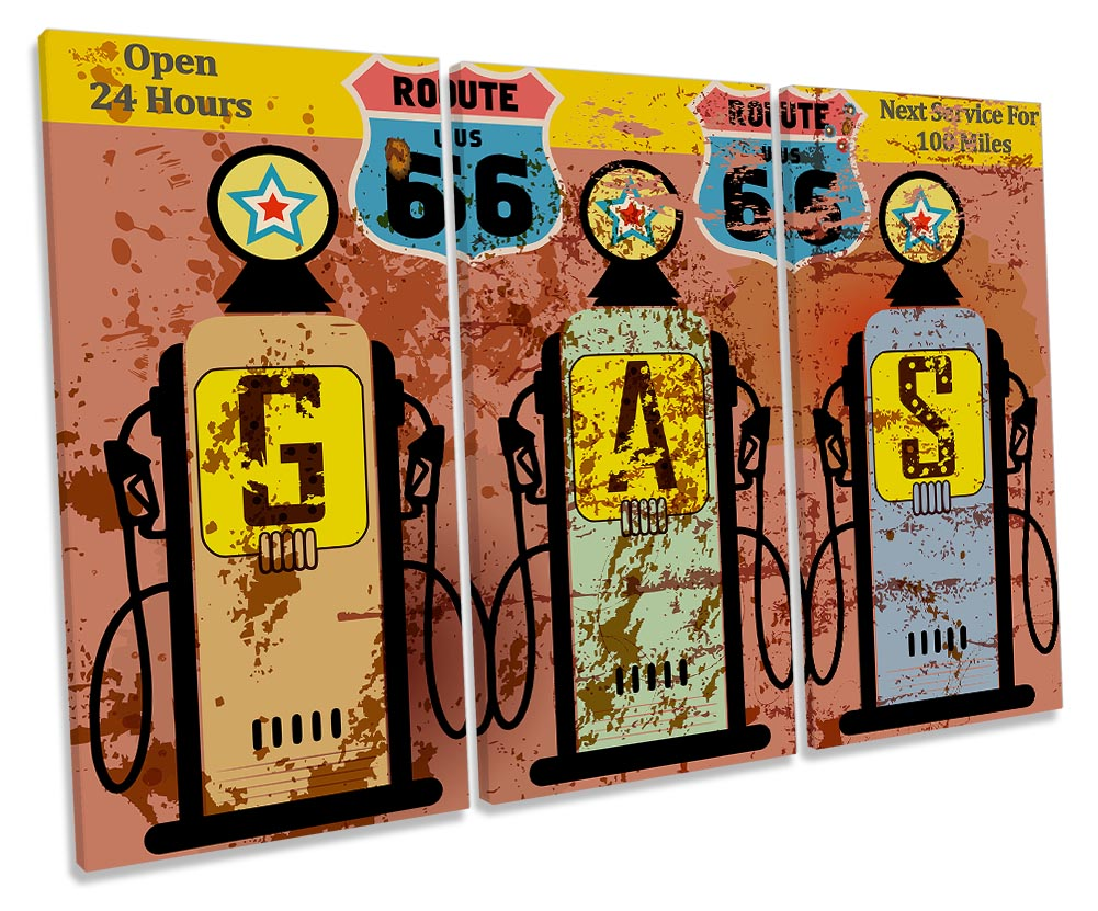 Retro Vintage Gas Station Sign-TR32