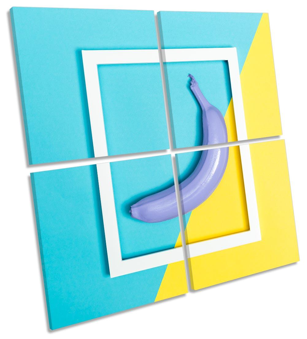 Banana Blue Yellow Kitchen-MP01