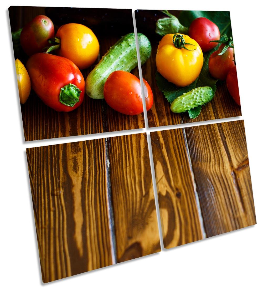 Fresh Fruit Veg Floorboards-MP01