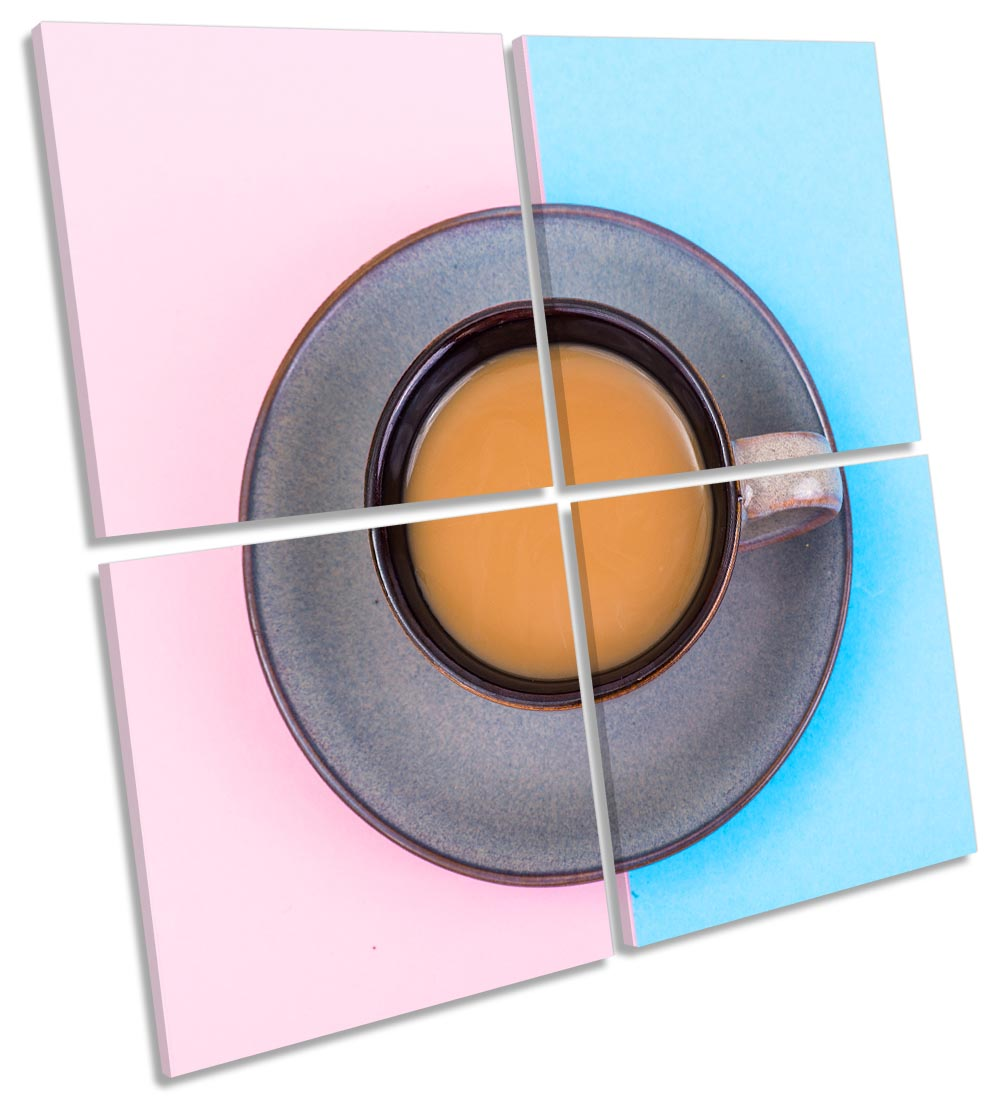 Coffee Pink Blue Kitchen-MP01