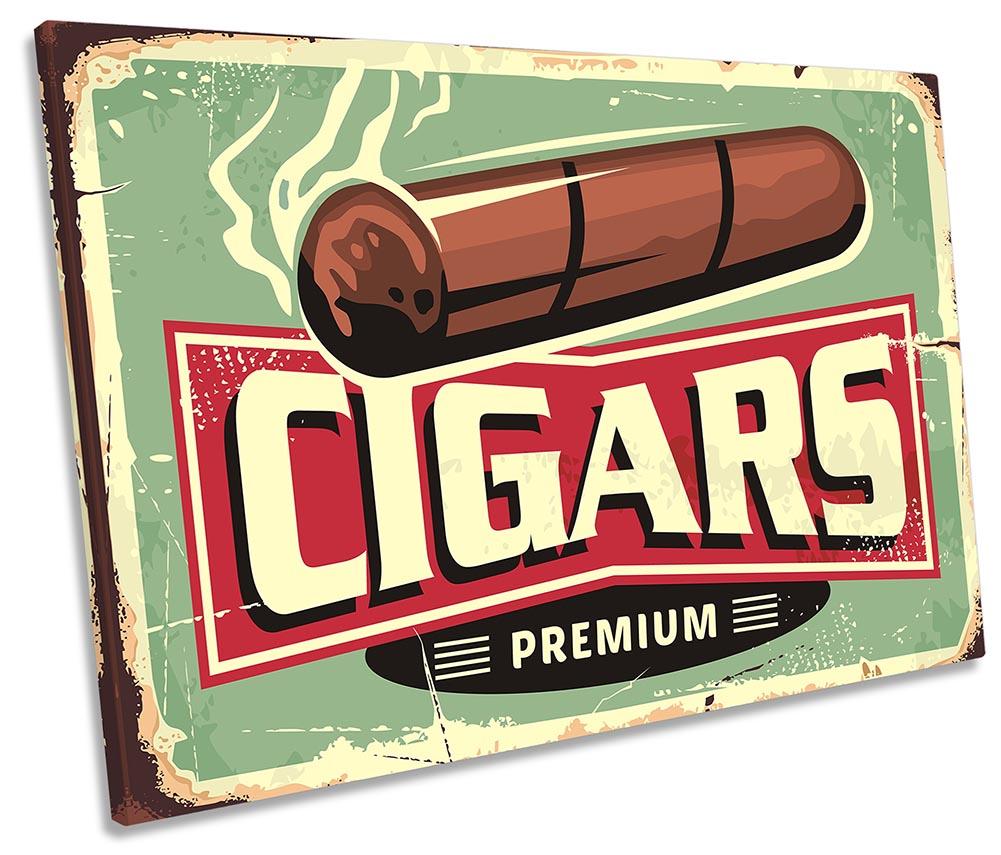 Cigars Retro Vintage Sign-SG32
