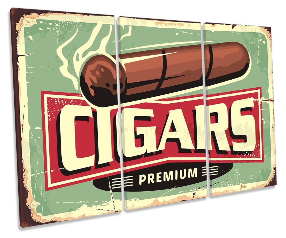 Cigars Retro Vintage Sign-TR32