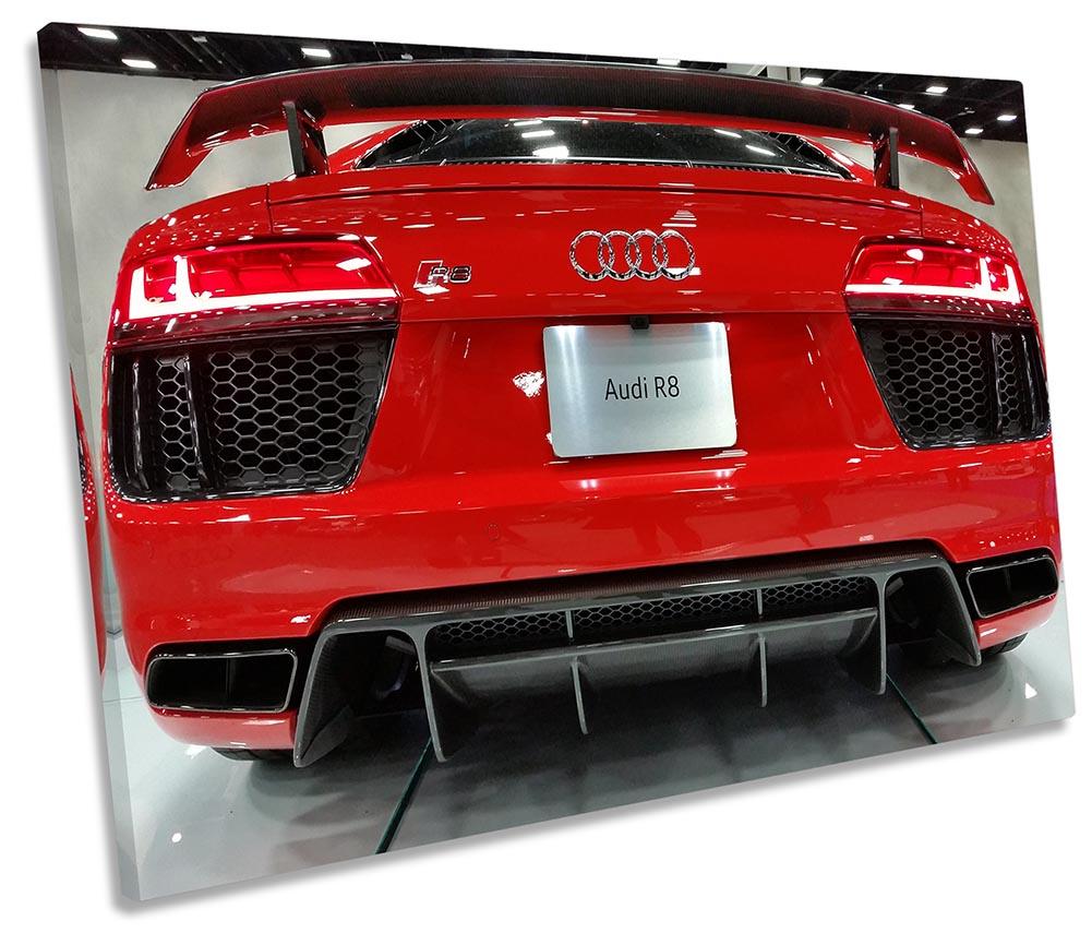 Audi R8 Sports Car Spoiler-SG32