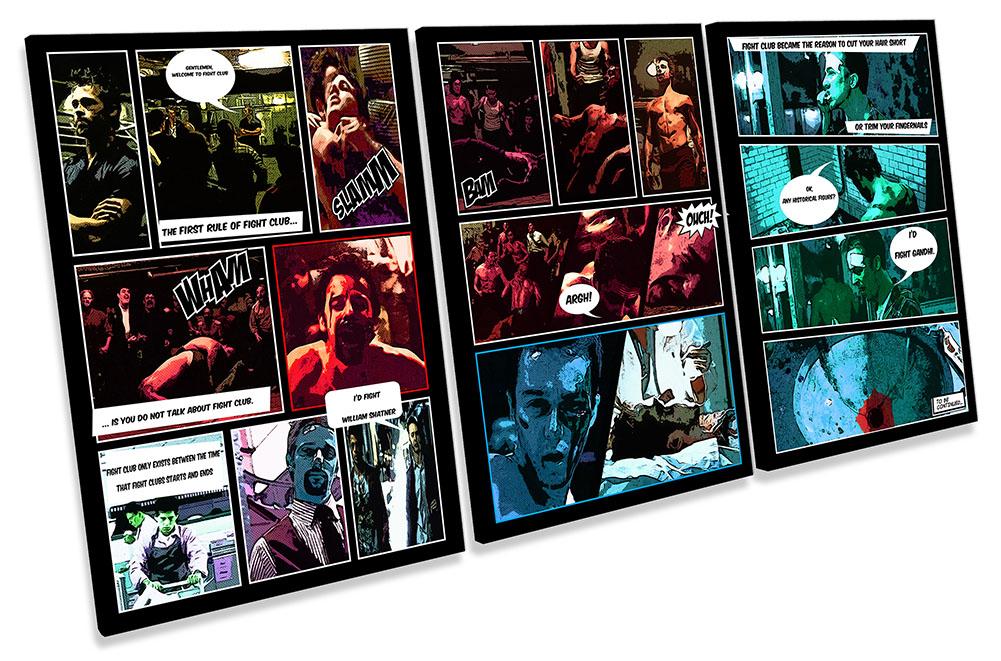 Fight Club Comic Book Film-TR21