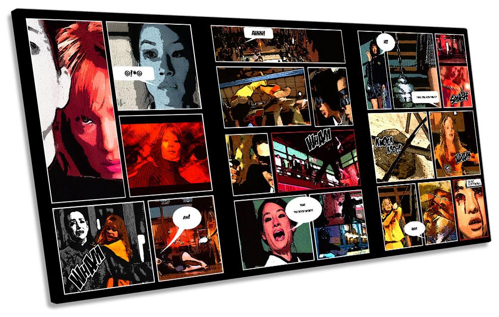 Kill Bill Comic Book Film-SG21