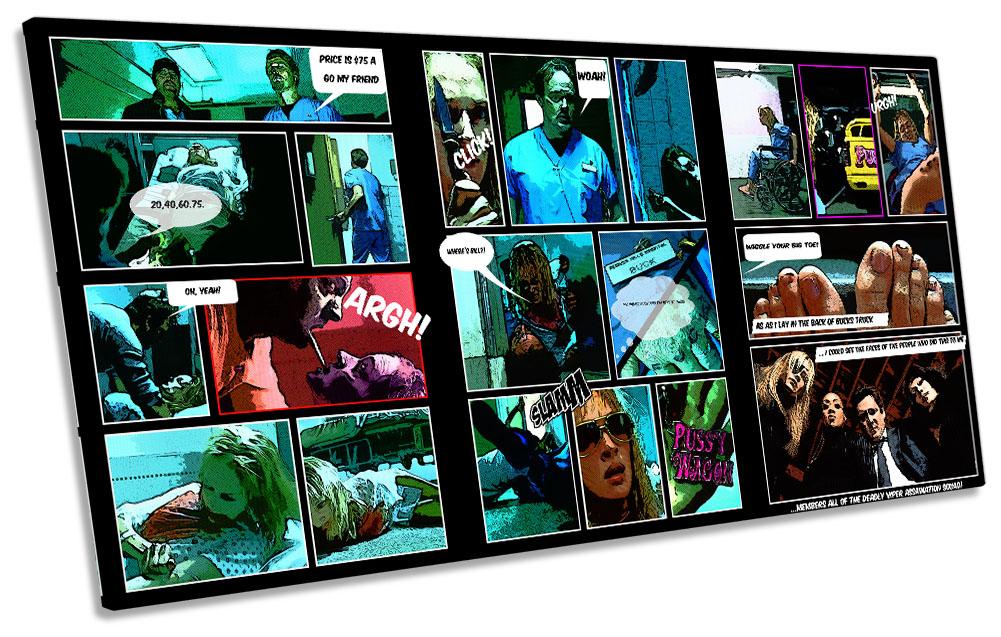 Kill Bill Comic Book Movie Film-SG21