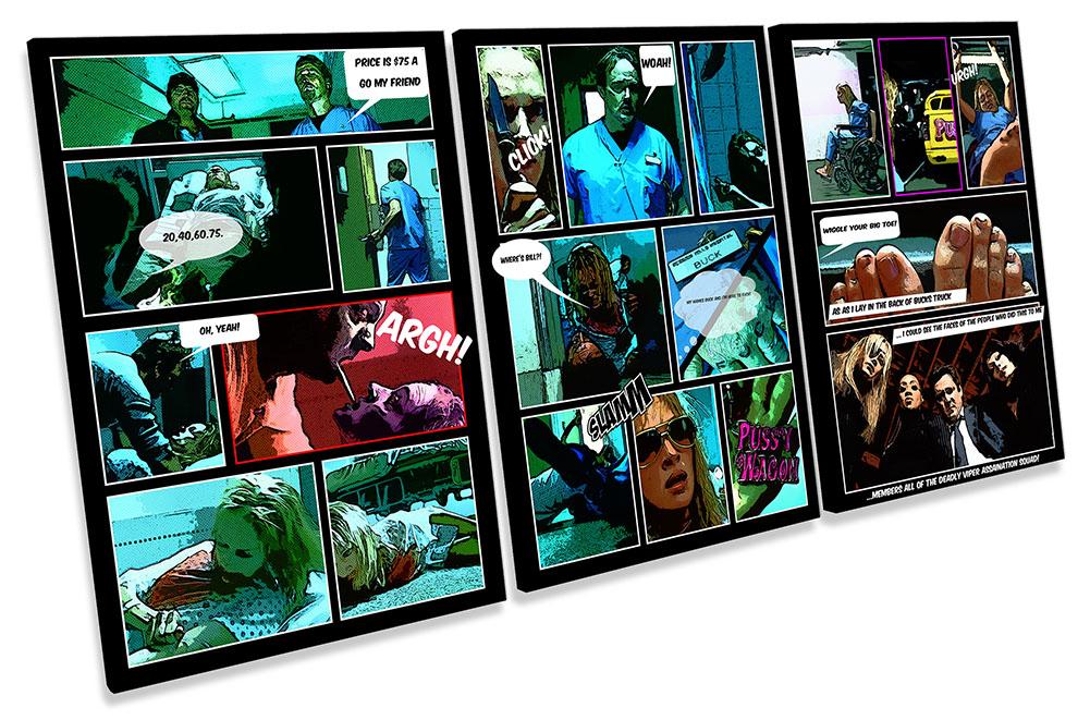 Kill Bill Comic Book Movie Film-TR21