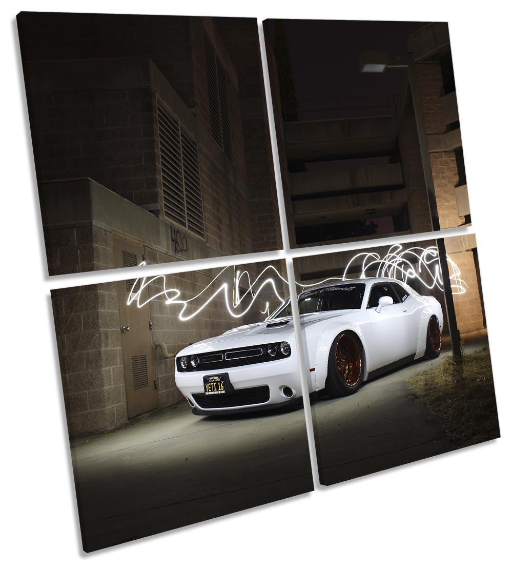 Dodge Challenge White Car-MP01