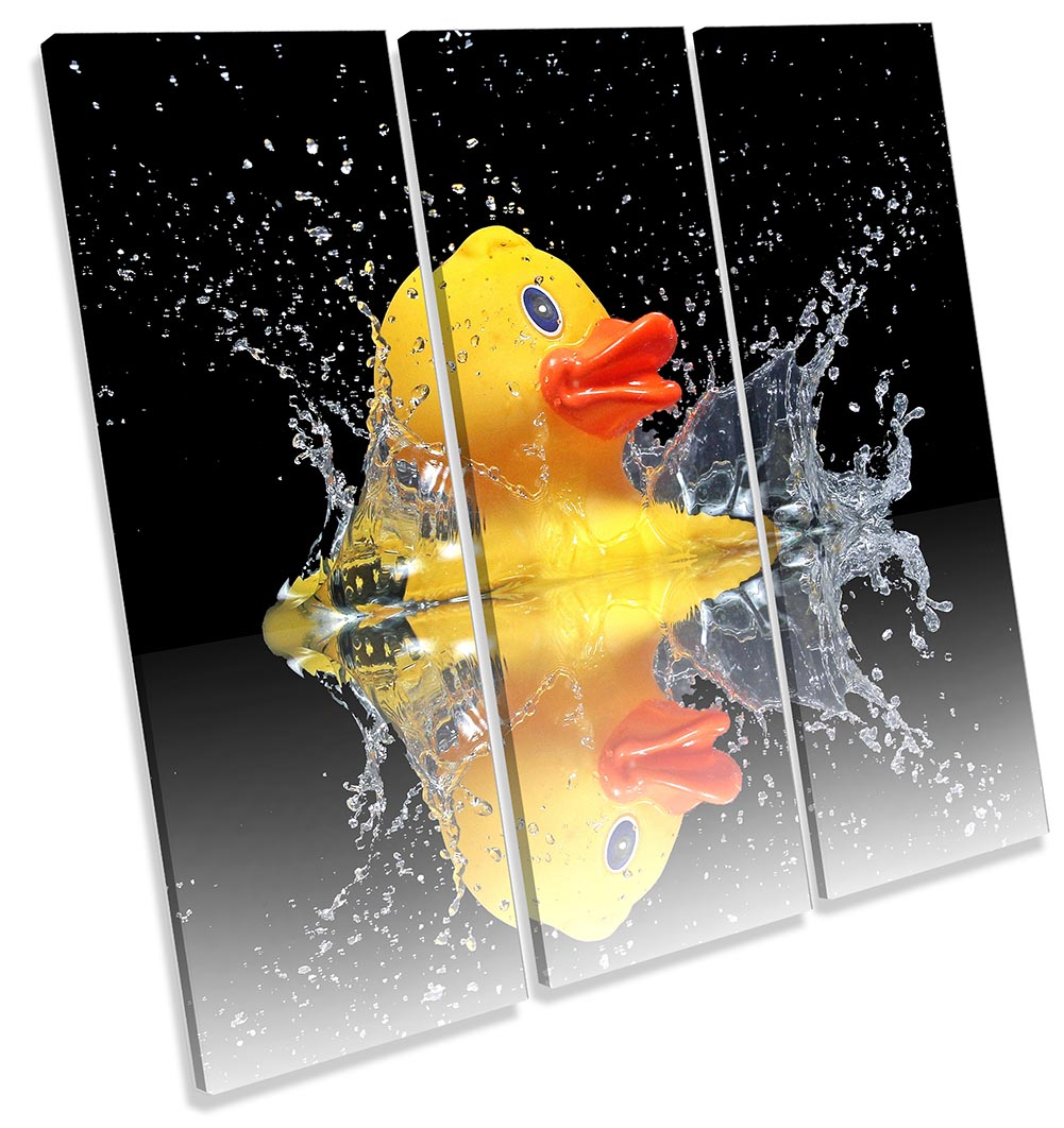 Rubber Duck Bathroom Black-TR11