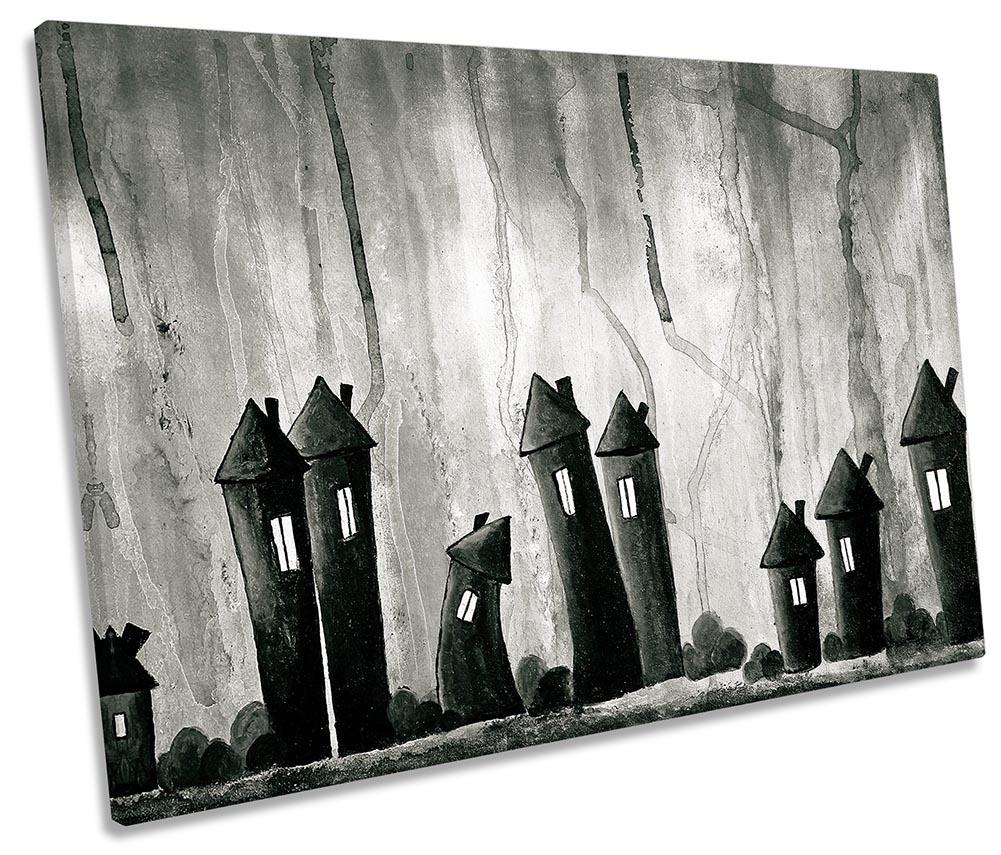 Black Fantasy Houses Village-SG32