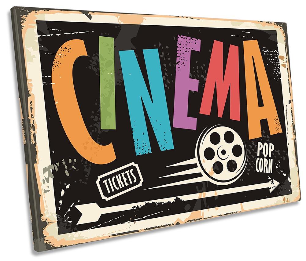Retro Cinema Room Sign-SG32