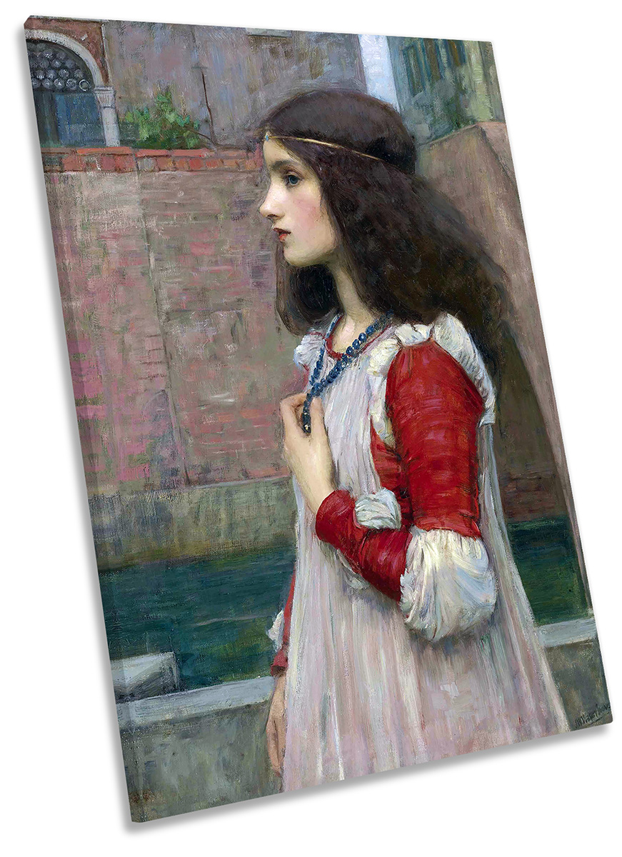 John William Waterhouse the Tempest Vintage Wall Art Poster Print Picture Giclee