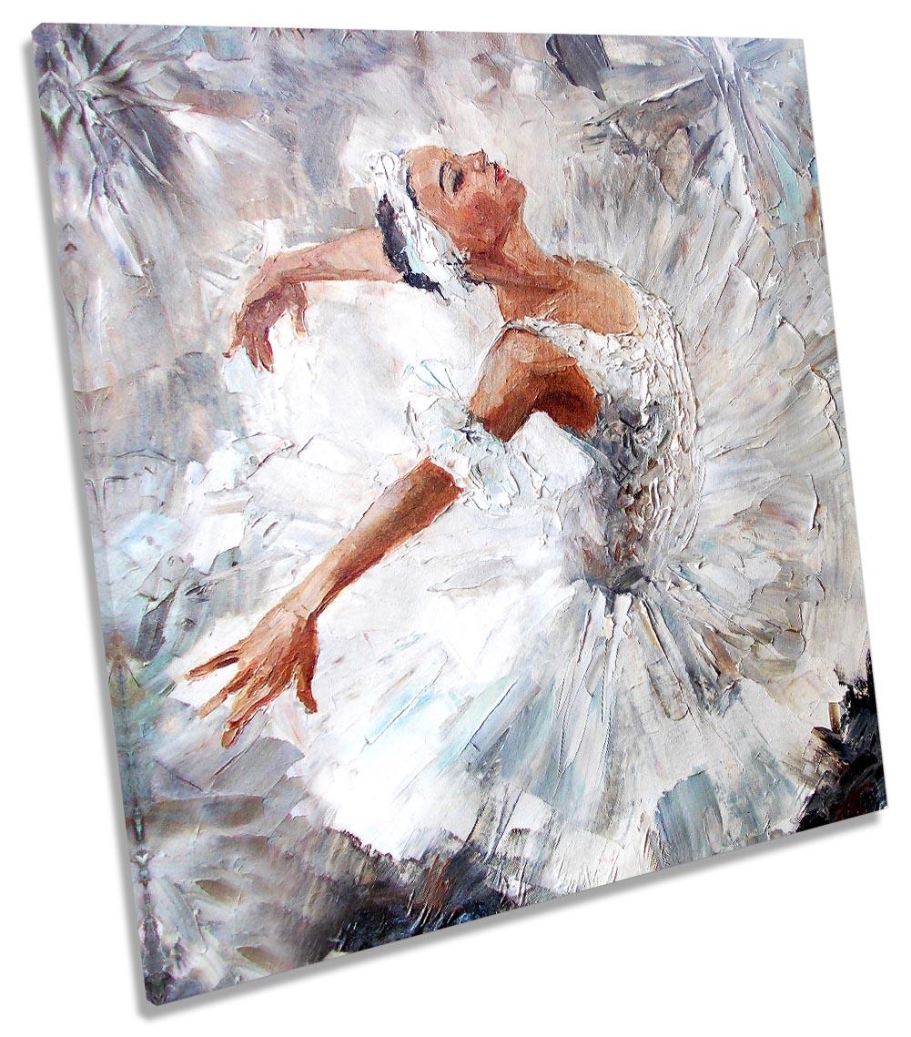 Dragonaur Peinture sur Toile Noire et Blanche Danseuse Girls Poster Art Peinture Murale D/écoration sans Cadre Caf/é Shop D/écoration Murale 21cm x 30cm Toile